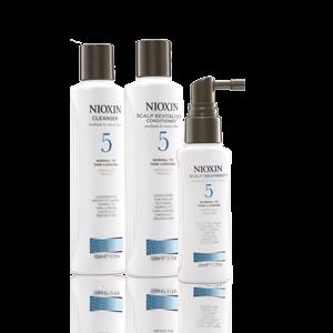 Nioxin TRIALKIT SYSTEM 5 rinkinukas, 300ml