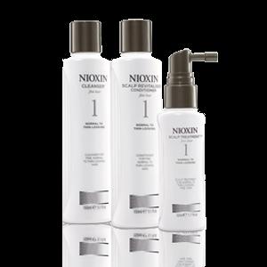 Nioxin TRIALKIT SYSTEM 1 rinkinukas, 300ml