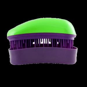 Dessata Mini Green-Purple nepešantis šepetys