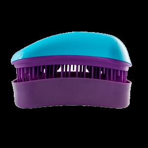 Dessata Mini Turquoise-Purple nepešantis šepetys