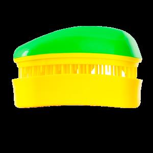 Dessata Mini Green-Yellow nepešantis šepetys