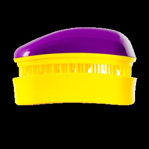 Dessata Mini Purple-Yellow nepešantis šepetys