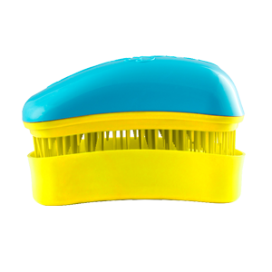 Dessata Mini Turquoise-Yellow nepešantis šepetys
