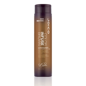 JOICO Color Infuse Brown plaukų kondicionierius su pigmentais, 300ml