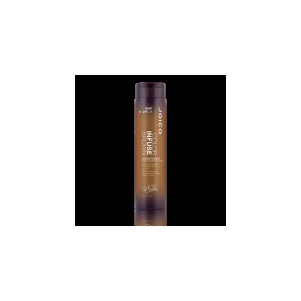 JOICO Color Infuse Brown plaukų kondicionierius su pigmentais, 300ml