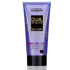 L'Oreal Professionnel Tecni Art Sleek and Swing kremas-želė, 170ml