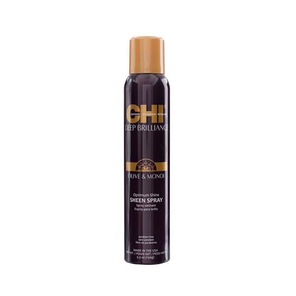 CHI purškiamas plaukų blizgesys su alyvuogių ir Monoi aliejais,74g