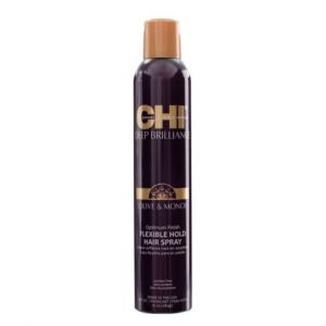 CHI lanksčios fiksacijos plaukų lakas su alyvuogių ir Monoi aliejais,284g