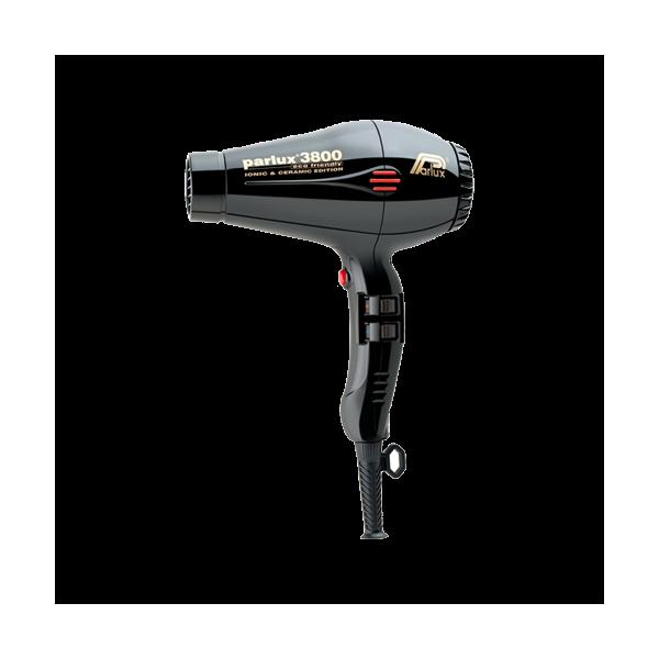 Parlux 3800 Ceramic & Ionic plaukų džiovintuvas (juodas)