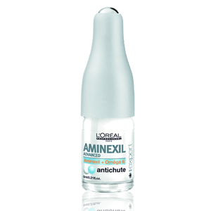 L'Oreal Professionnel AMINEXIL roll-on ampulės, 6ml (10x6ml)