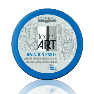 L'Oreal Professionnel Tecni Art Deviation Paste plaukų pasta, 100ml