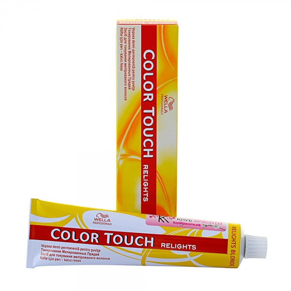 Wella plaukų dažai Color Touch Relight, 60ml