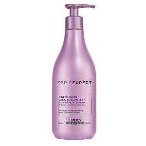 L'oreal Professionnel Liss Unlimited šampūnas, 500ml