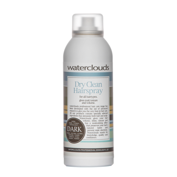 Waterclouds Volume Dry clean Hairspray plaukų lakas, 200ml
