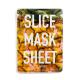 KOCOSTAR Slice Mask Sheet Pineapple kaukė, 20ml