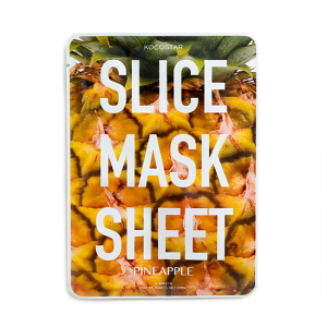 KOCOSTAR Slice Mask Sheet Pineapple kaukė, 20ml