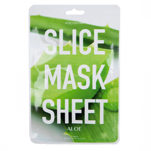 KOCOSTAR Slice Mask Sheet Aloe Vera kaukė, 20ml