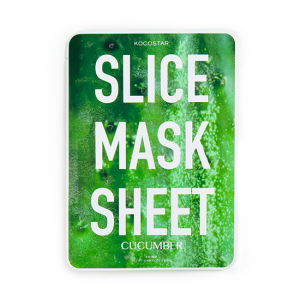 KOCOSTAR Slice Mask Sheet Cucumber kaukė, 20ml