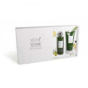 Keune So Pure MOISTURIZING dovanų rinkinys (šampūnas ir kondicionierius)