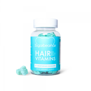 Sugarbearhair vitaminai plaukams, 150g (60 guminukų)
