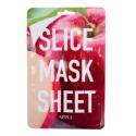 KOCOSTAR Slice Mask Sheet Apple kaukė, 20ml