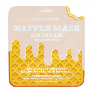 KOCOSTAR Slice Mask Sheet Banana kaukė, 20ml