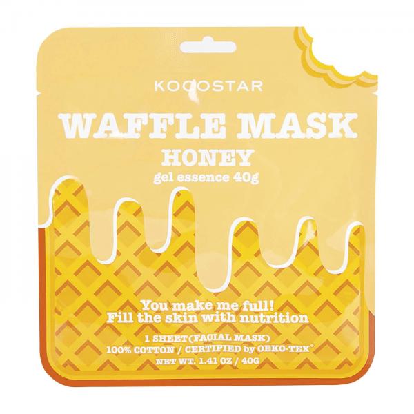 KOCOSTAR Waffle Strawberry kaukė, 40g
