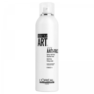 L'Oreal Professionnel Tecni Art Fix Anti-Frizz (4) plaukų lakas, 250ml