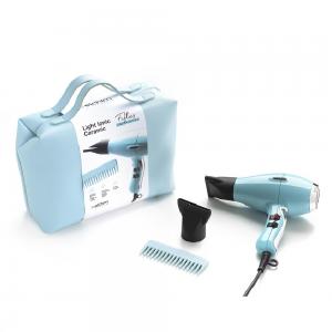 Elchim Light IONIC Pastel Blue plaukų džiovintuvas krepšyje (limituota serija)