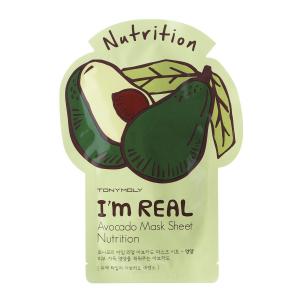 Tonymoly I Am Avocado maitinanti veido kaukė s, 1 vnt.