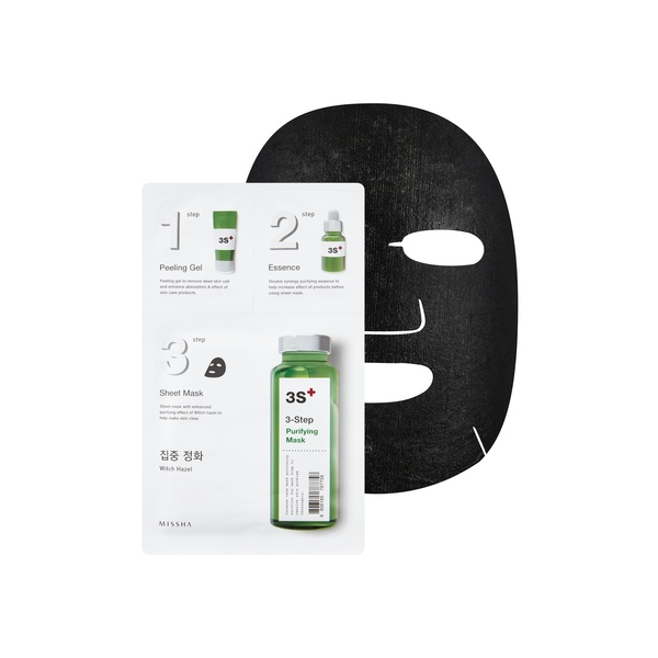 MISSHA 3-Step Whitening balinanti kaukė