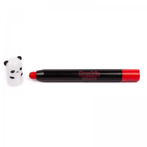 Tonymoly Panda's Dream Glossy lip lūpų pieštukas Red Berry  Nr. 04, 1.5 g