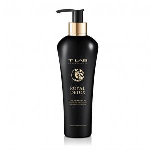 T-LAB Royal Detox nusilpusių plaukų šampūnas, 300 ml