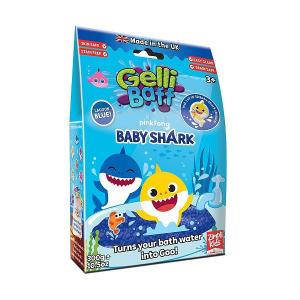 Zimpli Kids Gelli Baff želė milteliai Shark mėlyni, 300g