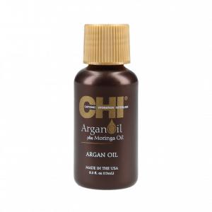 CHI Argan Oil argano ir moringų aliejų priemonė plaukams, 15ml