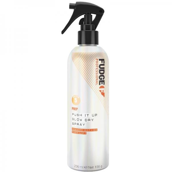 Fudge Push-It-Up Blow Dry Spray apimties purškiklis, 150 ml