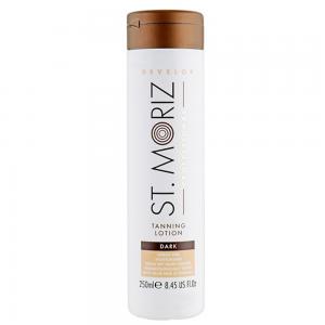 ST. MORIZ Self Tanning Lotion Dark savaiminio įdegio losjonas, 250ml