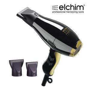 Elchim 3900 HEALTHY IONIC plaukų džiovintuvas Black&Gold + DOVANA Hot Honey Starter kit