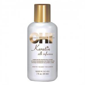 CHI Silk Infusion keratino ir šilko kompleksas plaukams, 59ml