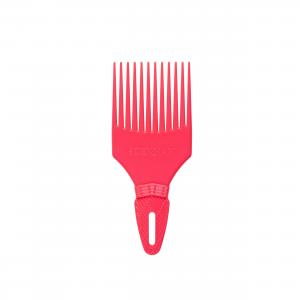 DENMAN D17 Pink Volumizing garbanotų plaukų šukos