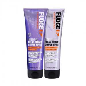 Fudge Clean Blonde Everyday rinkinys šviesiems plaukams. 250 ml + 250 ml