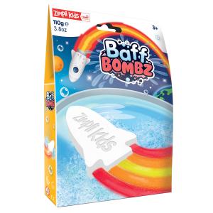 Zimpli Kids šnypščianti vonios bomba raketa, 110 g