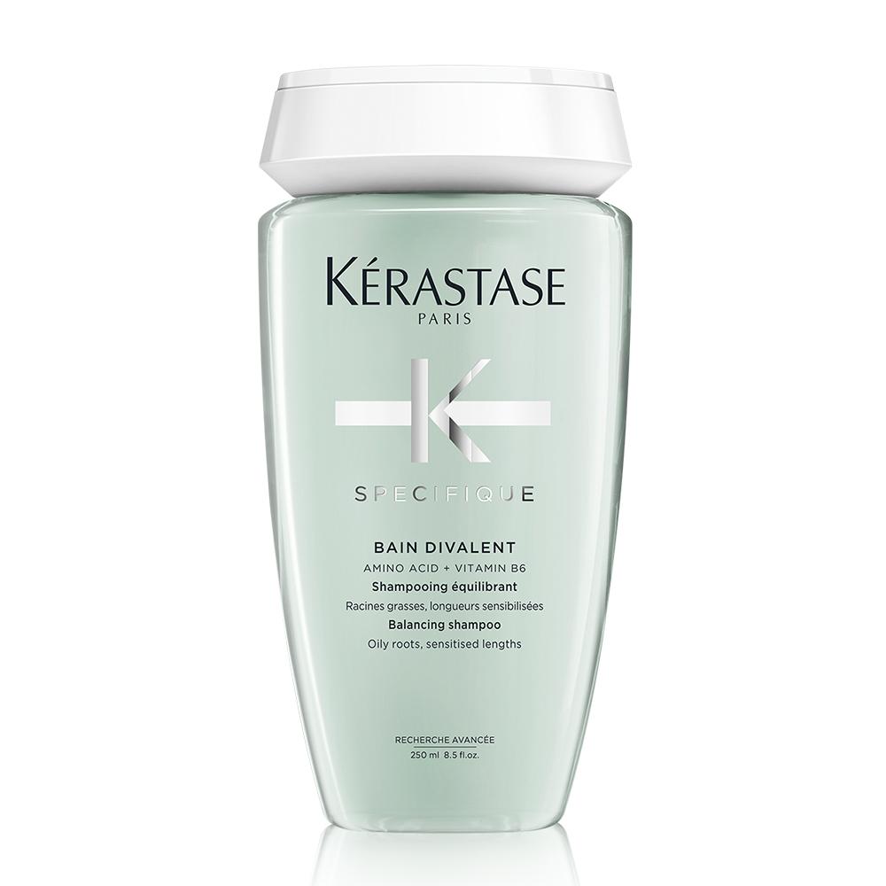 Kerastase Specifique Bain Divalent Balancing riebių plaukų vonelė, 250 ml